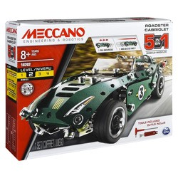 Cabriolet Retro Friction - 5 Modeles Meccano