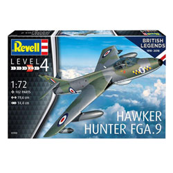 Maquette d'avion 100 ans RAF Hawker Hunter