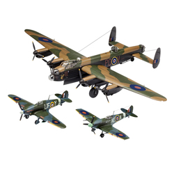 Coffret maquettes d'avions 100 ans RAF British Legends