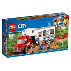 60182 - LEGO® City Le pick-up et sa caravane