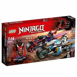 70639 - LEGO® NINJAGO La course de rues en motos