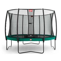 Trampoline Champion Green 380 Safety Net Comfort