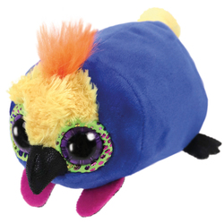 Teeny Tys - Petite Peluche Diva le Perroquet 8 cm