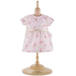 Robe rose pour poupon de 36 cm