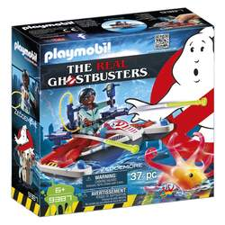 9387 - Playmobil Ghosbusters Zeddemore avec scooter des mers