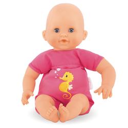 Poupon Mon premier bébé bain plouf rose