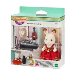 Sylvanian Families - 6009 - Figurine fille lapin chocolat violoniste