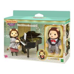 Sylvanian-Figurine lion pianiste