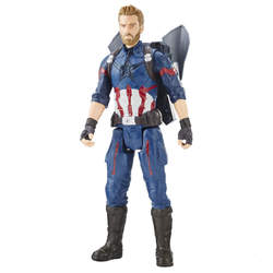 Avengers-Figurine Captain America 30 cm Titan Power Hero FX