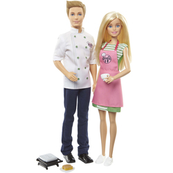 Barbie et Ken coffret déjeuner