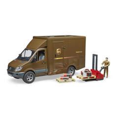 Camion de transport UPS avec accessoires