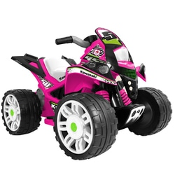 Quad The Beast 12V Kawasaki rose