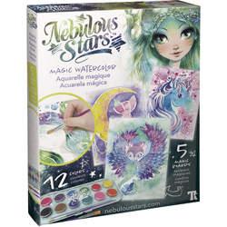 Aquarelle magique watercolor - Nebulous Stars