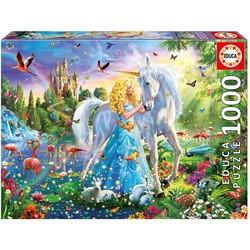 Puzzle 1000 pièces La Princesse et la Licorne