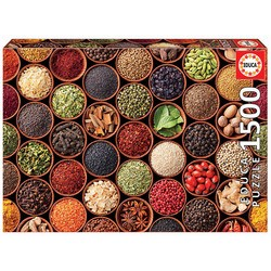 Puzzle Herbes et épices 1 500 pièces
