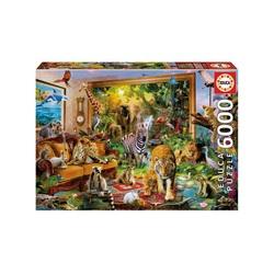 Puzzle 6000 pièces – En entrant dans la pièce