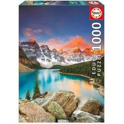 Puzzle 1000 pièces – Lac Moraine, Banff National Park, Canada