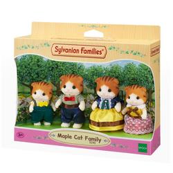 Sylvanian Families - 5290 - La famille chat roux