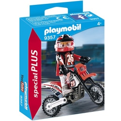 9357 - Pilote de motocross Playmobil Action