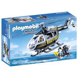 9363 - Hélicoptère et policiers d'élite Playmobil City Action