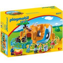 9377 - Playmobil 1.2.3 Parc animalier
