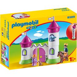 9389 - Playmobil 1.2.3 Château de princesse