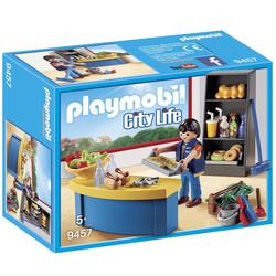 9457 - Surveillant avec boutique Playmobil City Life