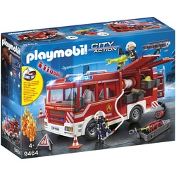 9464 - Fourgon d'intervention des pompiers Playmobil City Action