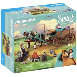9477 - Jim et charrette Playmobil Spirit