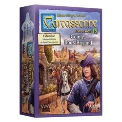 Compte, Roi et Brigand extension Carcassonne