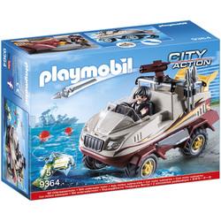 9364 - Véhicule amphibie et bandit Playmobil City Action