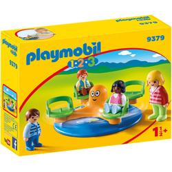 9379 - Playmobil 1.2.3 Enfants et manège