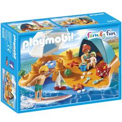 9425 - Famille de vacanciers et tente Playmobil Family Fun