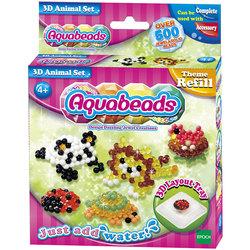 Aquabeads-Coffret animaux 3D