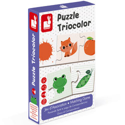 Jeu d'association - puzzle Triocolor