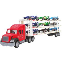 Camion de transport Formule 1