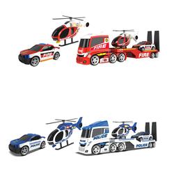 Transport hélicoptère pompier ou policier