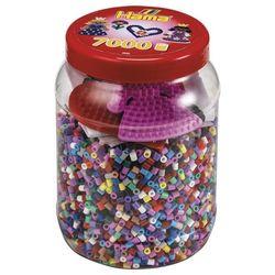 Midi Pot Violet 7000 Perles Hama + 2 Plaques Couleurs