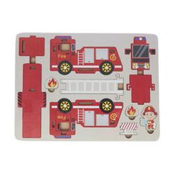 Puzzle 3D camion de pompier