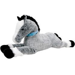 Peluche cheval géant 120 cm