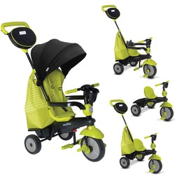 Tricycle évolutif 4 en 1 Swing DLX vert