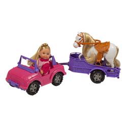 Lolly Kid Jeep et poney