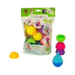 Perles éducatives et accessoires 12 pièces Lalaboom