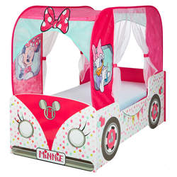 Lit enfant camping-car Minnie Mouse