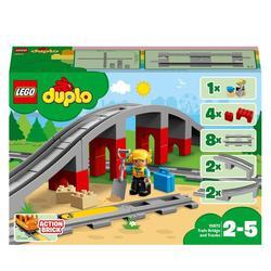 10872 - LEGO® DUPLO Les rails et le pont du train