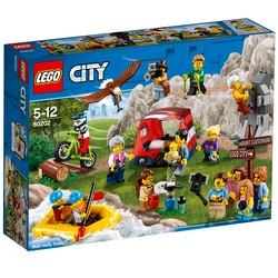 60202 - LEGO® City Figurines les aventures en plein air