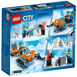 60191 - LEGO® City Les explorateurs de l'Arctique