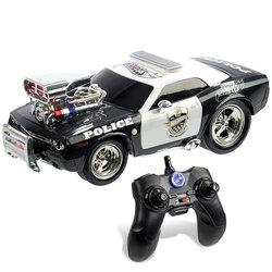 Hot Wheels-Voiture de Police radiocommandée