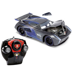 Cars 3-Voiture radiocommandée Crash Jackson Storm