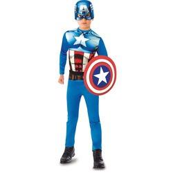 Avengers - Déguisement de Captain America + Bouclier - 5/6 ans